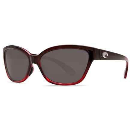 Costa Starfish Sunglasses - Polarized 580P Lenses (For Women) in Pomegranate Fade Gray - Closeouts