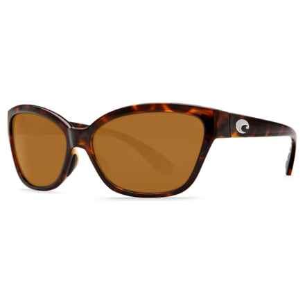 Costa Starfish Sunglasses - Polarized 580P Lenses (For Women) in Retro Tortoise/Amber - Closeouts