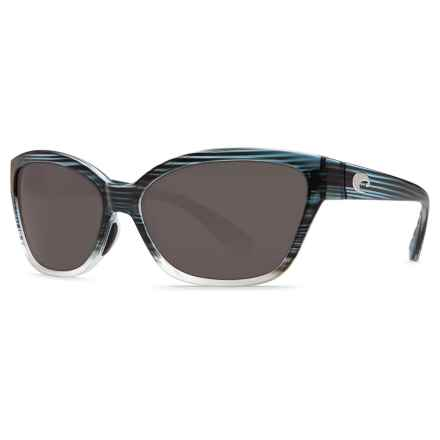 Costa Starfish Sunglasses - Polarized 580P Lenses (For Women) in Topaz Fade Gray - Closeouts