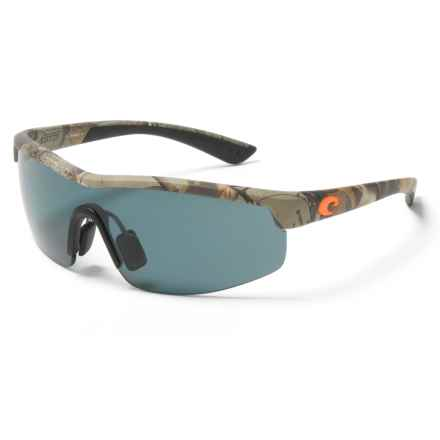 Costa Straits Camo Sunglasses - Polarized 580P Lenses in Xtra Camo/Gray - Closeouts