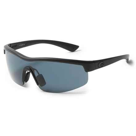 Costa Straits Sunglasses - Polarized 580P Lenses in Blackout/Gray - Closeouts