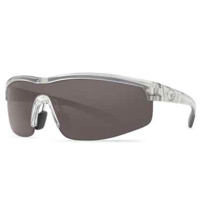 Costa Straits Sunglasses - Polarized 580P Lenses in Silver/Grey 580P - Closeouts