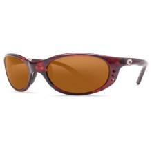 Costa Stringer Sunglasses - Polarized 580P Lenses in Tortoise/Amber - Closeouts