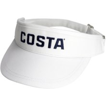Costa Sun Visor (For Men) in White - Closeouts