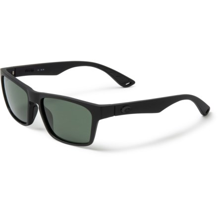 5c66aa46305 Costa Sunglasses - Polarized 580G Glass Lenses (For Men) in Blackout Gray