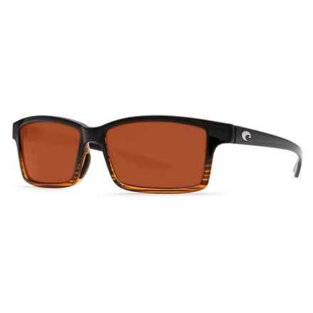 Costa Tern Sunglasses - Polarized 580P Lenses in Coconut Fade/Copper - Closeouts