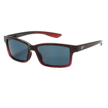 Costa Tern Sunglasses - Polarized 580P Lenses in Pomegranate Fade/Gray - Closeouts