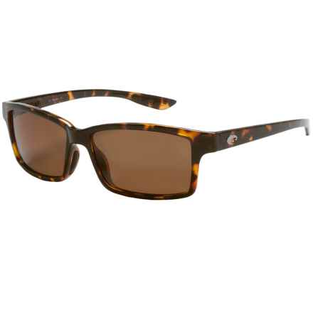 Costa Tern Sunglasses - Polarized 580P Lenses in Retro Tortoise/Amber - Closeouts
