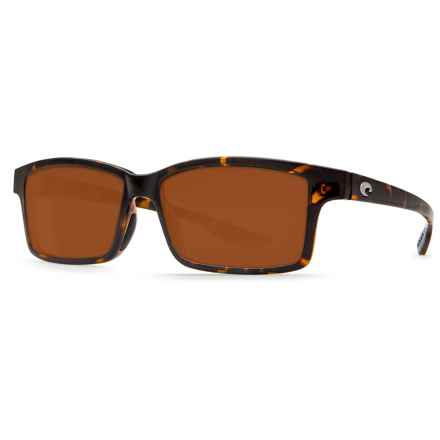 Costa Tern Sunglasses - Polarized 580P Lenses in Retro Tortoise/Copper - Closeouts