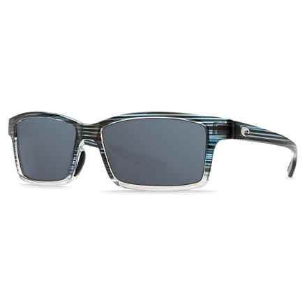 Costa Tern Sunglasses - Polarized 580P Lenses in Topaz Fade/Gray - Closeouts