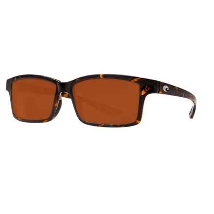 Costa Tern Sunglasses - Polarized CR-39® Lenses in Retro Tortoise/Dark Vermillion - Closeouts