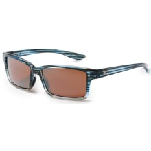 Costa Tern Sunglasses - Polarized, Mirrored 580P Lenses in Topaz Fade/Silver Mirror - Closeouts