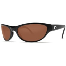 Costa Triple Tail Sunglasses - Polarized 580G Glass Lenses in Black/Copper - Closeouts
