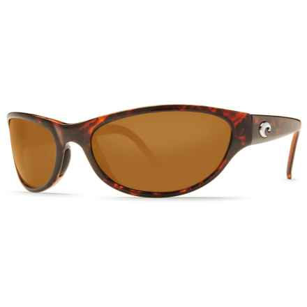 Costa Triple Tail Sunglasses - Polarized 580P Lenses in Tortoise/Amber - Closeouts