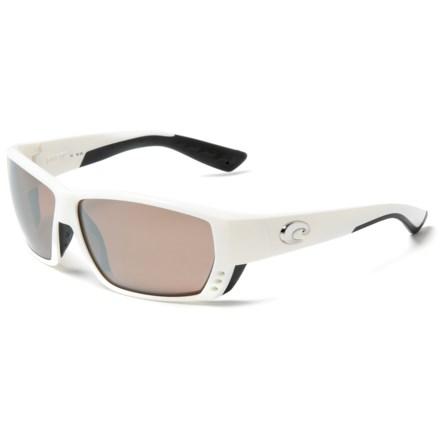 d058b999aa Costa Tuna Alley Sunglasses - Polarized 580G Glass Lenses in White Silver