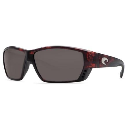3e60ef8ac553 Costa Tuna Alley Sunglasses - Polarized 580P Lenses (For Men) in  Tortoise Gray