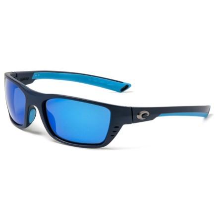 55d729f485 Costa Whitetip Mirror Sunglasses - Polarized 400G Glass Lenses in Matte  Heron Blue