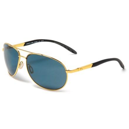 8db2db0462 Costa Wingman Sunglasses - Polarized 580P Lenses in Gold Gray