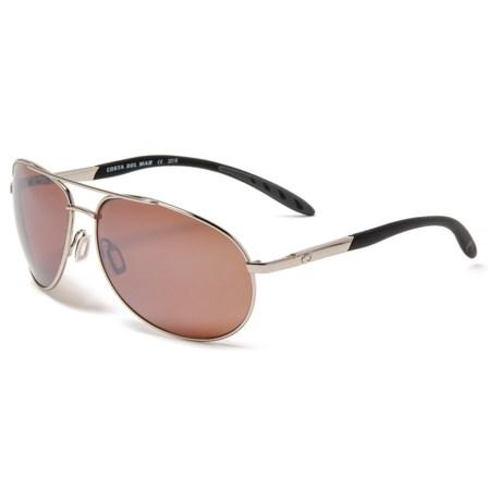 53b802ddb4 Costa Wingman Sunglasses - Polarized 580P Mirror Lenses in Palladium Silver  Copper