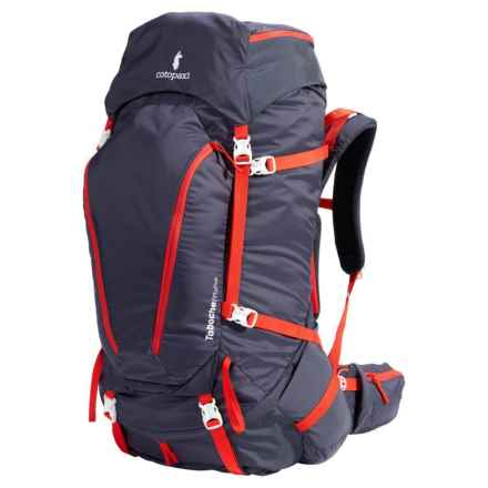 Cotopaxi 55L Taboche Backpack in Graphite & Fiery Red - Closeouts