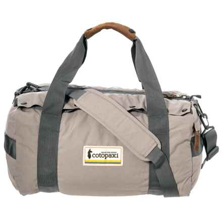 Cotopaxi Chumpi 35L Travel Duffel Bag in Driftwood - Closeouts
