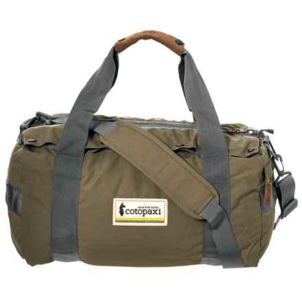 Cotopaxi Chumpi 50L Travel Duffel Bag in Beech Canopy - Closeouts