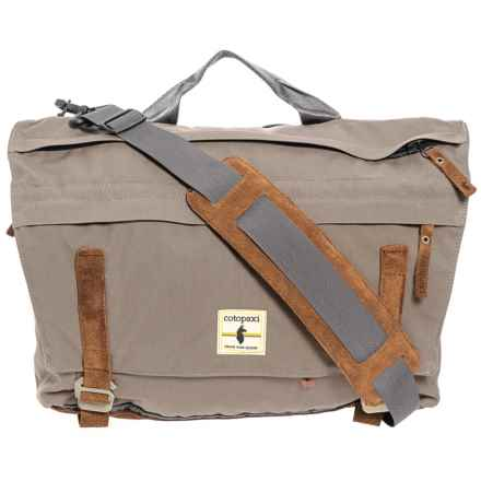 Cotopaxi Kpong 15L Classic Satchel - Suede in Driftwood - Closeouts