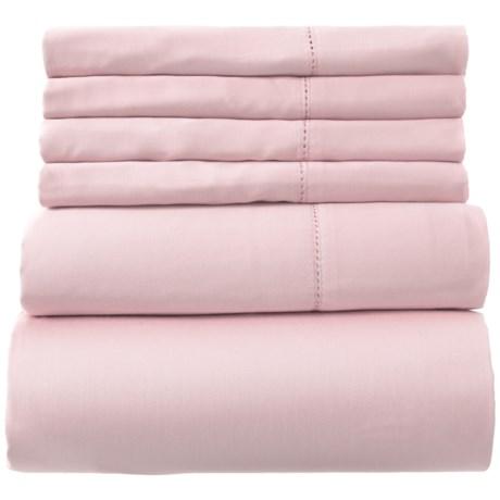 Image of Cotton Blush Sheet Set - King, 400 TC