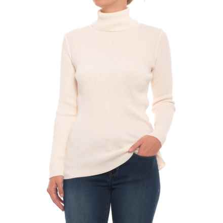 Cotton Country Poorboy Sweater (For Women) in Natural - Closeouts