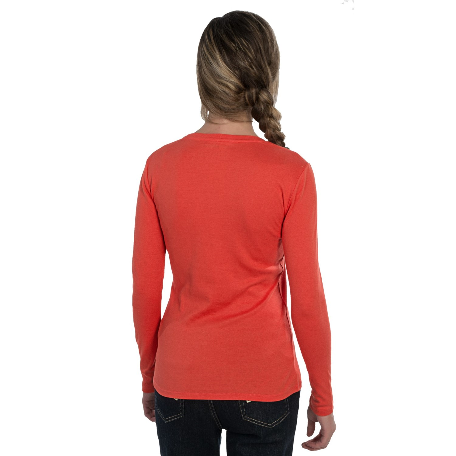 Cotton crew neck t shirt for women 6972y save 67 for Crew neck t shirt women