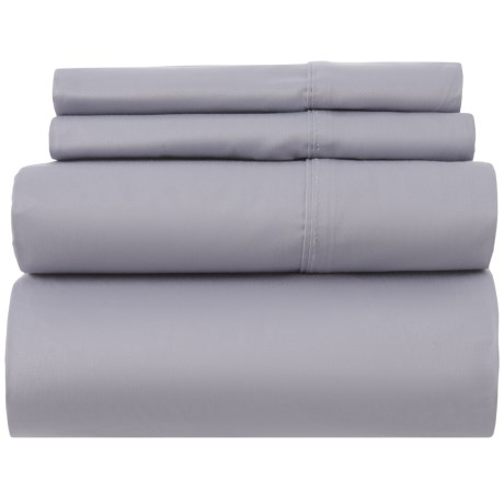 Image of Cotton Dapple Grey Sheet Set - California King, 400 TC