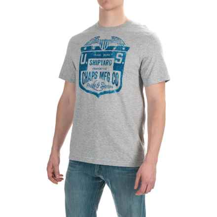 Cotton Graphic T-Shirt - Short Sleeve (For Men) in Pride And Honor - 2nds