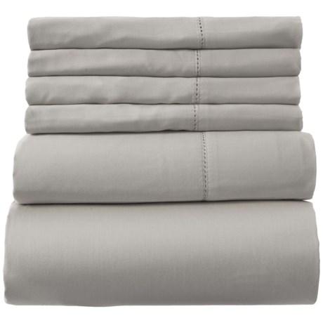 Image of Cotton Grey Sheet Set - King, 400 TC
