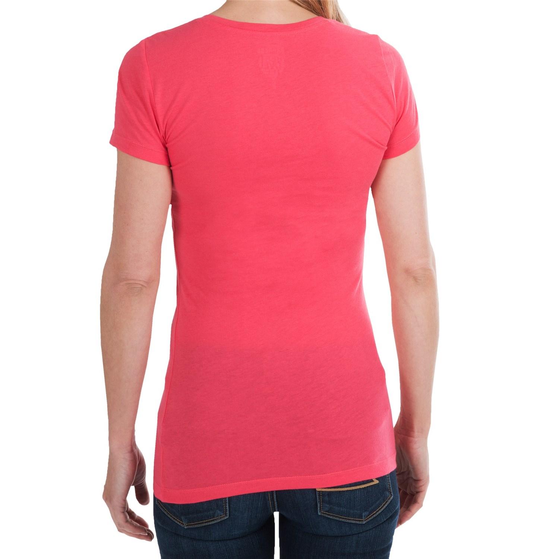 Cotton modal t shirt for women 8785j save 66 for Long length long sleeve t shirts