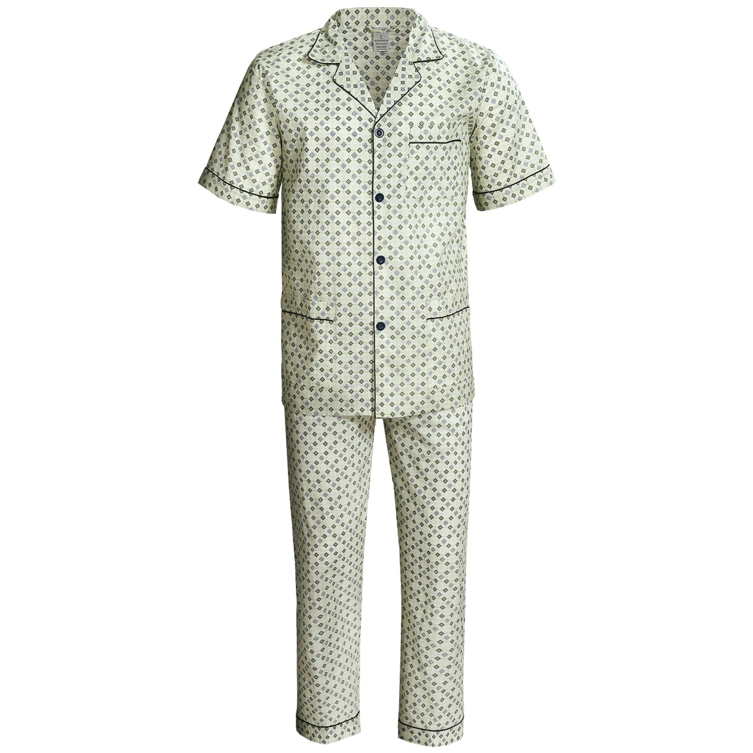 Two-piece sleep set, short sleeve and Short leg men pajama set. CYZ Men's % Cotton Plaid Woven Pajama Shorts Lounge Shorts Sleep Shorts. by CYZ Collection. $ - $ $ 4 $ 15 99 Prime. FREE Shipping on eligible orders. Some sizes/colors are Prime eligible. out of 5 stars