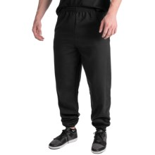 Cotton-Poly Sweatpants (For Men and Women) in Black - 2nds