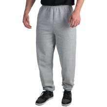 Cotton-Poly Sweatpants (For Men and Women) in Grey Heather - 2nds