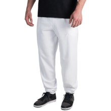 Cotton-Poly Sweatpants (For Men and Women) in White - 2nds