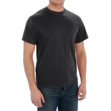 Cotton-Poly T-Shirt - Short Sleeve (For Men) in Charcoal Heather - 2nds
