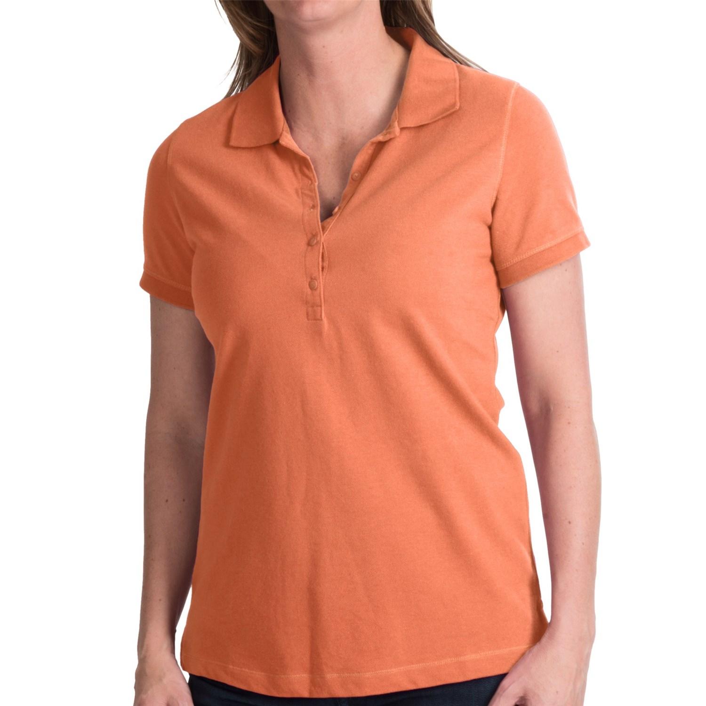 Cotton Polyester Pique Polo Shirt Short Sleeve For