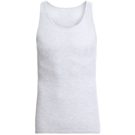 Cotton Ribbed Tank Tops - 3-Pack (For Men)