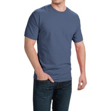 Cotton T-Shirt - Short Sleeve (For Men and Women) in Blue Grey - 2nds