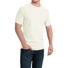 Cotton T-Shirt - Short Sleeve (For Men and Women) in Natural - 2nds