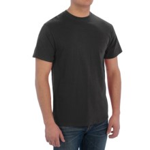 Cotton T-Shirt - Short Sleeve (For Men) in Black - 2nds