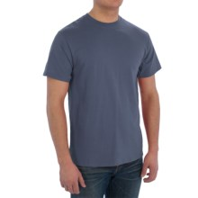 Cotton T-Shirt - Short Sleeve (For Men) in Blue Grey - 2nds