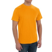 Cotton T-Shirt - Short Sleeve (For Men) in Gold - 2nds