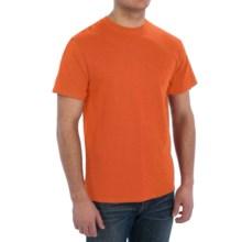 Cotton T-Shirt - Short Sleeve (For Men) in Orange - 2nds