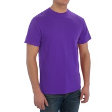 Cotton T-Shirt - Short Sleeve (For Men) in Purple - 2nds
