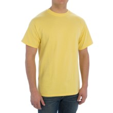 Cotton T-Shirt - Short Sleeve (For Men) in Yellow - 2nds