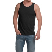 Cotton Tank Top (For Men) in Black - 2nds